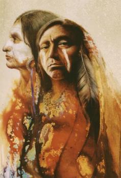 � Denton Lund, Portrait of a Warrior